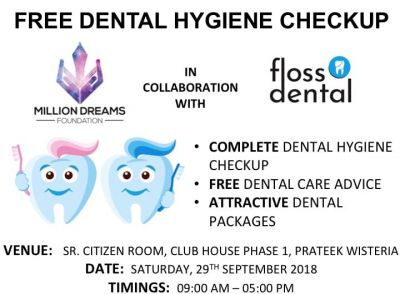 Free Dental Hygiene Camp by Floss Dental